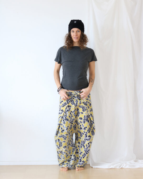leaves pants5